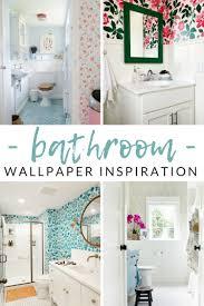 WOW-Worthy Bathroom Wallpaper Ideas ...