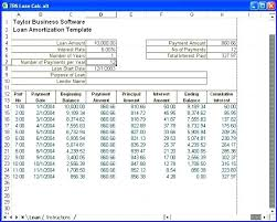 Loan Amortization Schedule Xls Calculator Template Rightarrow