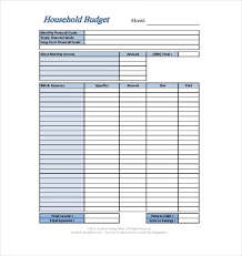 Personal Expenses Excel Template Kadil Carpentersdaughter Co