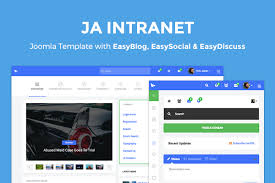 Intranet Requirements Template Ja Intranet Featuring Easysocial Easydiscuss And Easyblog