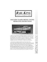 Railking Mth Electric Trains Manualzz Com