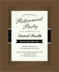 Word Template For Invitation Beautiful Free Retirement Party Invitation Templates For