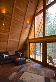 Tiny Aframe Cabin In The WoodsA Frame House Kit