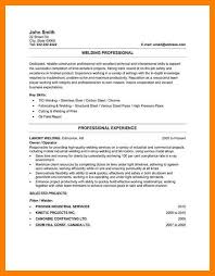Canadian Resume Samples Professional Welder Resume Sample Jpg Us31