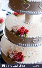 A Wedding Cake From The Conditori La Glace A Bakery And Tea Room