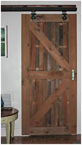 diy sliding barn door style