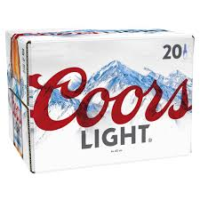 20 Bottles Of Coors Light Coors Light Bottle 330ml 20 Pack Beer Available At Carry Out