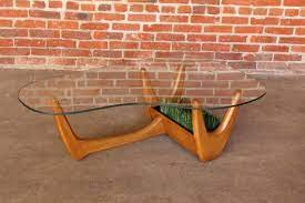 adrian pearsall style coffee table with