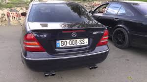 Mercedes-Benz C55, E55, C32 Exhaust sound - YouTube