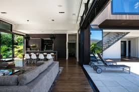 architecture patio modern house