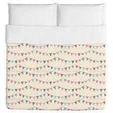 sweet festoons on polka dots duvet cover