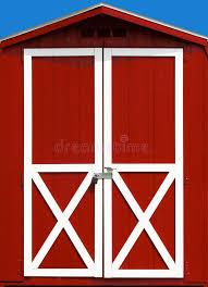 red barn doors. Download Red Barn Door Stock Image. Image Of Painted, Beautiful - 6395087 Doors