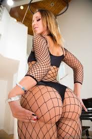 Jada Stevens Black Stockings Big Ass