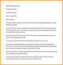 Termination Letter Sample – Scottcrosler
