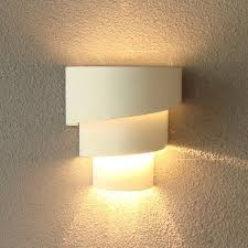 cheap wall sconce lighting. Loopy Wall Sconce Lighting Fixture In Modern White Made Of Metal Cheap