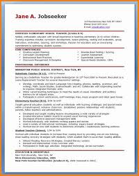 40 Elementary Teacher Resumes Penn Working Papers Adorable Teaching Resumes