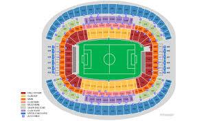 At T Stadium Arlington Tx Seating Chart View