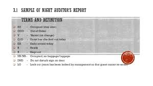 It Audit Report Template Gorgeous 4848 Sample Of Night Auditor's Report
