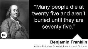 Ben Franklin Quotes Amazing Benjamin Franklin NEW BENJAMIN FRANKLIN QUOTES FIRE DEPARTMENT