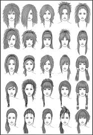 Hairstyle Chart For Boys