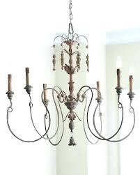 wood and iron chandelier distressed black wood and iron chandelier