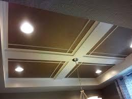 easy coffered ceiling diy ba t ideas