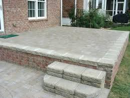 patio pavers over concrete. Pavers Over Concrete Patio Thin Price
