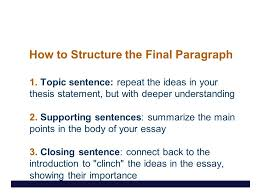 what does the conclusion do it summarizes the essay it  7 how