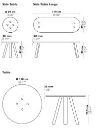 buzzimilk table round coffee table