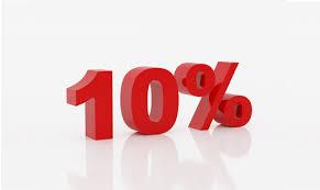 Resultado de imagen de 10%