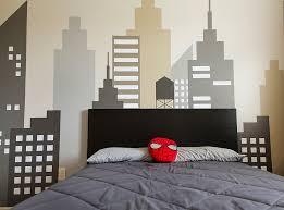 boys bedroom designs. Image Of: Funky Geometric Designs Paint Wall Boy Room Boys Bedroom