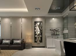 modern living room ceiling lights and wall lights 3d house