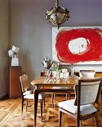 ecclectic dining decor brings interest into the e