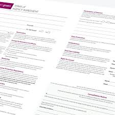 Sales Agent Contract Template Agent Agreement Template Estate Agents Sales Agency Form 21