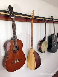 aloha home solutions diy guitar wall rack
