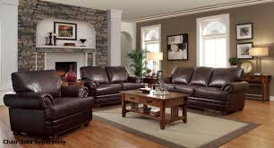 colton brown leather sofa and loveseat set