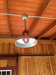 barn pendant lighting lends rustic edge to new midwest work