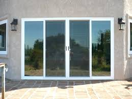 four panel sliding door amazing patio doors 4 glass interior design with