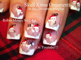 Christmas Nails Snowflakes Red. red and white snowflakes design ...