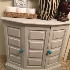 Small Picture Painted cabinet with Americana Decor chalk paint in color