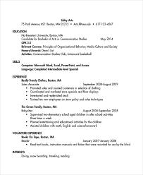 a sample resume 44 sample resume templates free premium templates