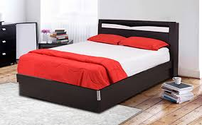queen size bed price. Delighful Size Royaloak Texas Queen Size Bed With Hydraulic Storage And Melamine Finish And Price A