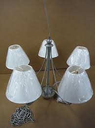 thomas lighting 5 light chandelier w etched glass m 2048 80 venetian silver