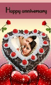 Download Name Photo On Anniversary Cake Couple Frames Hd On Pc