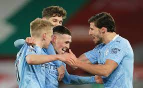 Watch Man City star Ruben Dias move Zinchenko by the NECK as Liverpool take  free-kick