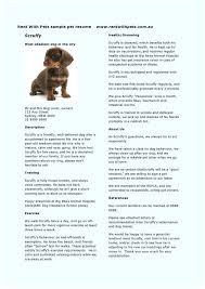 Pet Sitter Cover Letter Pet Sitter Resume Dog Groomer Resume Dog Walker Resume Ideas