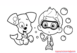 Small Picture Free Bubble Guppies Coloring Page Coloring Page