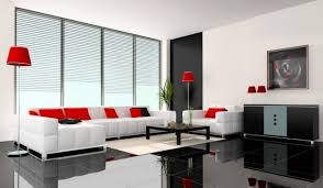 Modern Living Room Brown White Blind Stone Tile Floor Brown Gray - Livingroom tiles