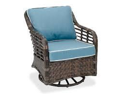 swivel glider chair. Maui Aluminum \u0026 Woven Resin Wicker Club Swivel Glider Chair