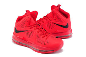 lebron red shoes. lebron james 10 basketball shoes couple red lebron c